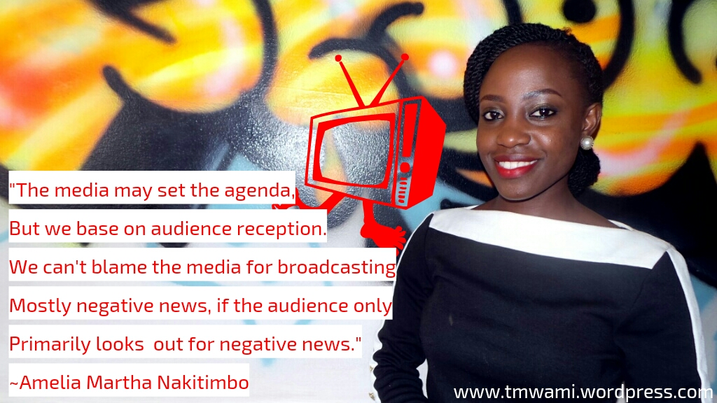 """""""African Media Creates Content Only For Local Audience""""- Amelia Martha Nakitimbo"""