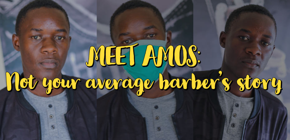Meet Amos: Not your average barber's story